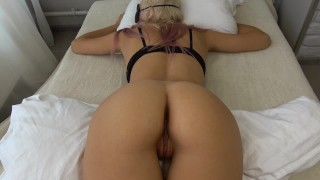gaint Tit Alura gets Thick dick stirring up her guts good