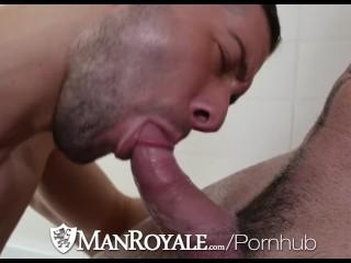 ManRoyale Kyle Kash fucks Billy Santoro tight brown eye