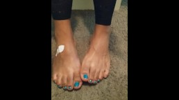 Real Ivy Grace feet fetish