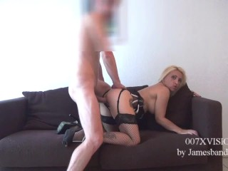 007XVISION CASTING: BELINDA  RUBIO is tested by a big cock 24cm