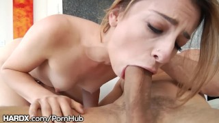 Horny Little Spinner Kristen Scott gets DRILLED by Big Cock