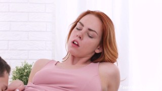 TeenMegaWorld - Dude cums on a perfect bottom porno