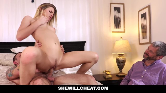 Would wife suck another mans cock - She willcheat- holding my wifes hair while she sucks another mans cock