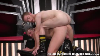 2 Hungry Bottoms Fisted Deep at the Same Time