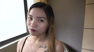 She was a young and pretty girl, completely amateur Pinay