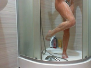 Pee on Feet Shower