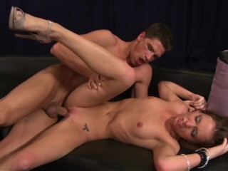 Petite Brunette Teen MADDY OREILLY Tells Rides Huge Cock