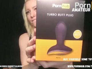 Pornhub speeltjes uitpakken