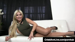 Boss Cristi Ann Confronts Employee Who Stole Her Dirty Hose! Dad petite