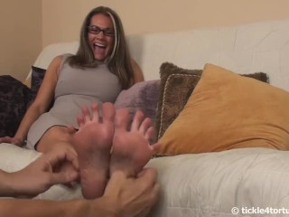 Now's Your Chance to Tickle My Feet!