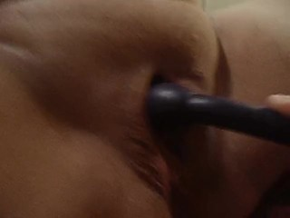 Husband making wife squirt