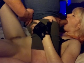 His and Hers Oral Worship - Boy Toy Boyfriend Does His Blonde Beauty Right