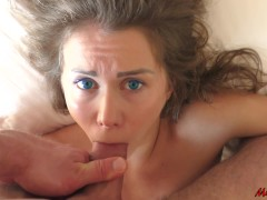 Sleeping Beauty Wakes Up From The Dick In Her Mouth. Mia Bandini