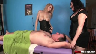 Preview 6 of Tag-team domination massage