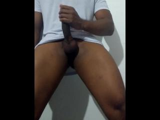 massaging cock