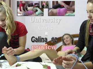 Ticklingproductions.com tickling Galina part 2 Exposing her ticklish belly