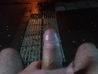 Nice hot cock on a cold night!