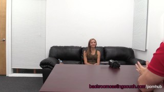 Amateur Amber Assfuck & Anal Creampie on Casting Couch Teen reverse