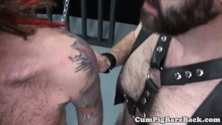 Dominant his assfucking slave bear mature amateurs chains