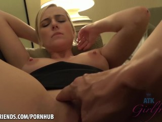 Kate can get used to this whole cum in the pussy thing