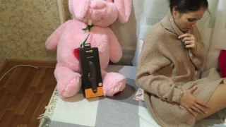 Lovenia Lux has HUGE Orgasm testing  Pornhub Turbo Rabbit Vibrator