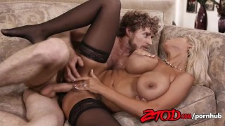 Squirts b gets fucked her blonde and bridgette pussy milf raw