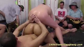 german slippery groupsex fuck orgy porno