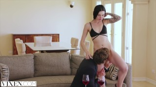 VIXEN Hot Young Curator Fucks Art Collector Black big