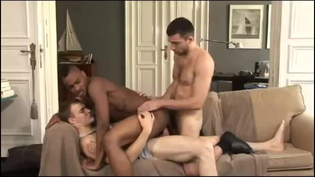 Double gay anal The best of gay double penetration - anal dp part 9