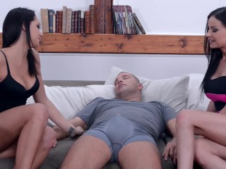 Preview 5 of The Most EPIC Double Euro Blowjob You have Ever Seen!