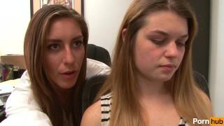 Lesbian  sisters horny scene cunnilingus diving