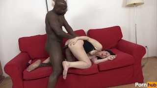 Man black banged  scene mommy a tits fuck