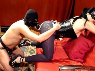 Red Room - Mistress Sadistra's gang bang