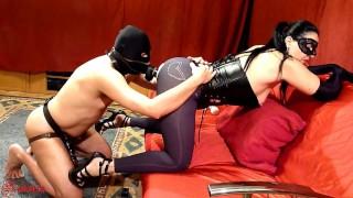 Red Room Mistress Sadistra's gang bang