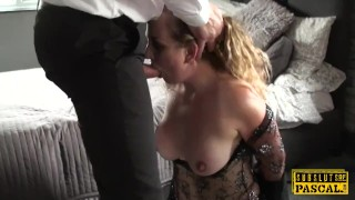 Preview 2 of Submissive british MILF assfucked and spanked