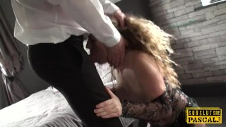 Preview 3 of Submissive british MILF assfucked and spanked