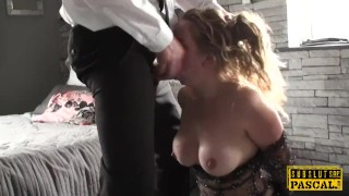 Preview 4 of Submissive british MILF assfucked and spanked