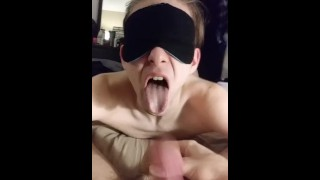 Slut on  years choking old twink cock twink oral