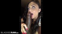 BLACKEDRAW Kinky brunette wife loves black cock in her hotel room