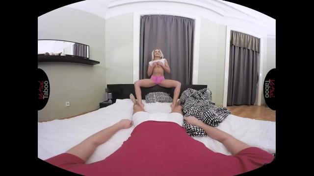 VIRTUAL TABOO - Blonde Stepsis Turns Into Hard Fucking 10