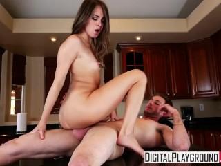 DigitalPlayground - Naughty houseguest Riely Reid makes man cheat