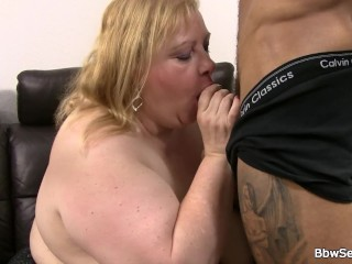 Mega boobs fatty rides cheating black meat