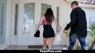 Preview 1 of TeenPies - One Night Stand Creampie For Hot Teen