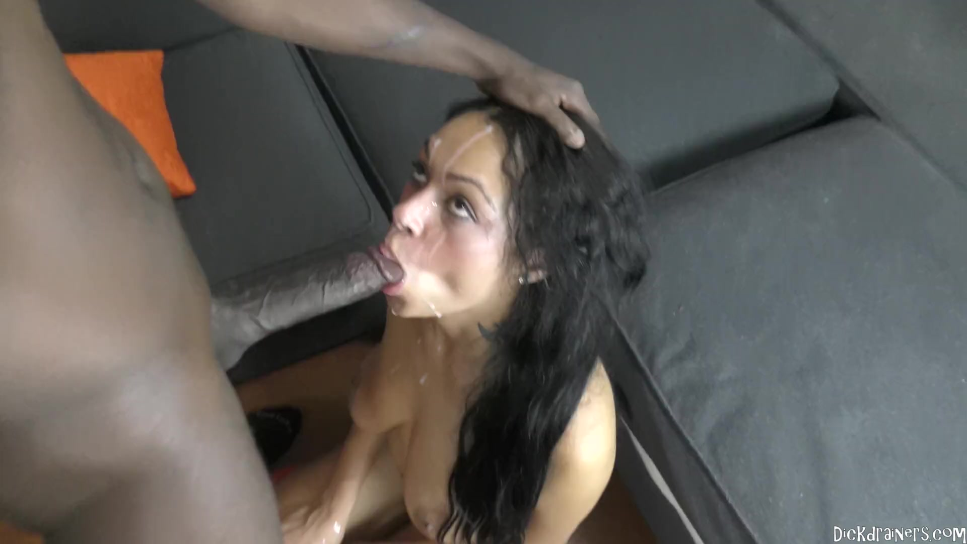 Blonde Fucks Dick-Monster Hard