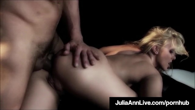 Milf Queen Julia Ann Gets Anal Fucked On Stage!