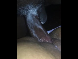 Cheating redbone creaming all over BBC in hotel room