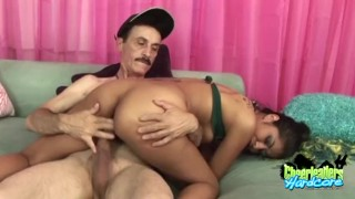 By cheerleader rayes older fucked gent an ruby pussy latina
