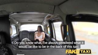 Fake Taxi Sexy milf Candi Kayne fucked hard by randy John