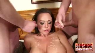 Slutty Chloe Reece Ryder Jizzed Sloppy cock