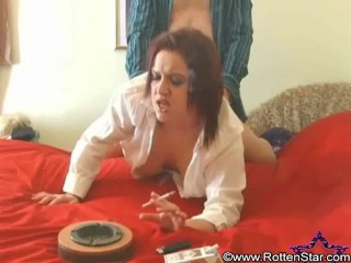 Smoking Doggystyle Tits Hanging - ALHANA WINTER - RottenStar Fetish Firsts